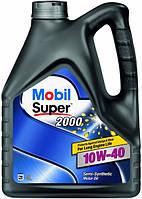Масло моторное Mobil Super 2000x1 10W-40 API SL/CF (4л), синтетика 1907395775