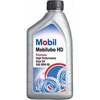 Масло трансмиссионное Mobilube HD 80W-90 API GL-5 (1л), 414202