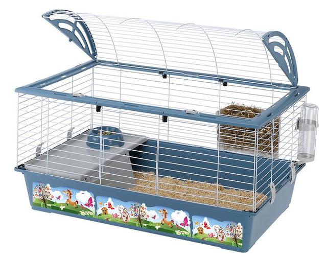 Ferplast CASITA 100 DECOR Клетка с декоративным рисунком для кроликов и морских свинок