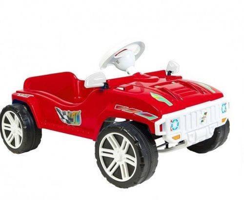 Машина для катания ПЕДАЛЬНАЯ красная, ТМ Орион, 792КРАСН, фото 2