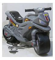 Мотоцикл толокар 2-х колесный, серый, ТМ Орион, 501СЕР