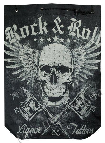 ROCK'N'ROLL - Liquor'N'Tattoos - рок-рюкзак
