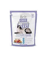 """Брит Кер """"Лилли"""" сухой корм для котов с чувствительным пищеварением, супер-премиум, 400гр"""