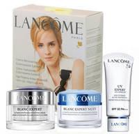 Косметический набор кремов для лица в подарочной упаковке  3 в 1- по 50 мл, Lancome Blanc Expert