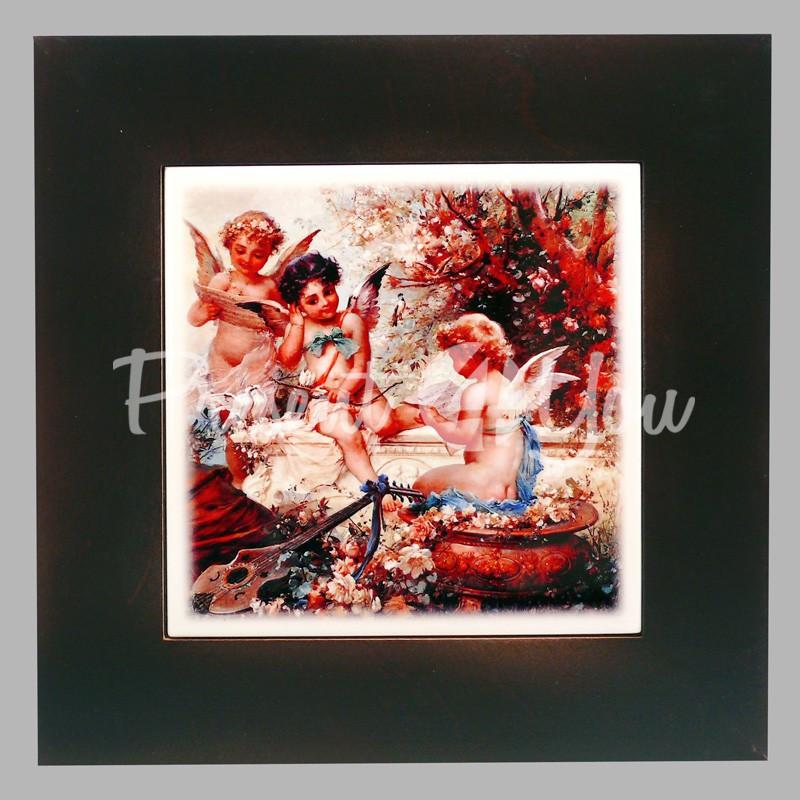 Панно настенное «Ангел», 23х23, 14,5х14,5 см.