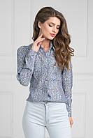 Модная  блуза прямого силуэта