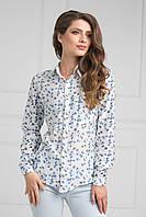 Блуза  с нагрудным карманом