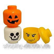 Ящик для хранения Lego Голова Дыня S PlastTeam 403140, фото 3
