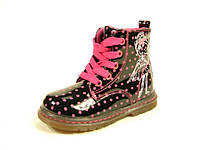 Детские ботинки Clibee TS-A-165 Черный (Размеры: 23-28)