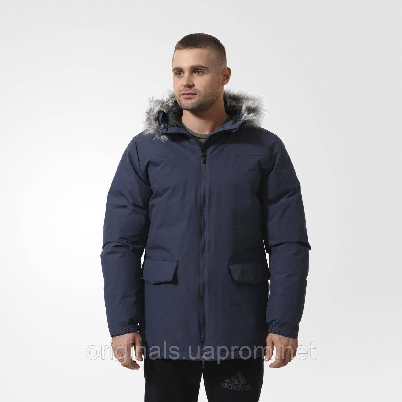 Куртка мужская Adidas SDPJKT LONG FUR AA1366 зима