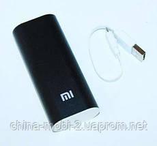 Универсальная батарея - Xiaomi power bank 6000 mAh, black, фото 2