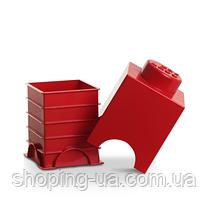 Одноточечный красный контейнер для хранения Lego PlastTeam 40011730, фото 3