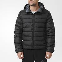 Мужская куртка с капюшоном adidas Down Mid Jacket AA1375 зима