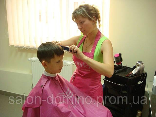 Дитяча стрижка для хлопчиків Салон-перукарня «Доміно» Львiв (Сихів) - Салон-перукарня «ДОМІНО» в Львове