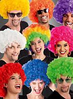 Африканские карнавальные парики в различных оттенках