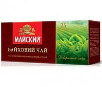 Чай чёрный Майский Байховый пакетированный 25 шт 901218