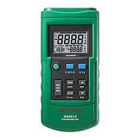 Двухканальный цифровой регистратор температуры MASTECH MS6514