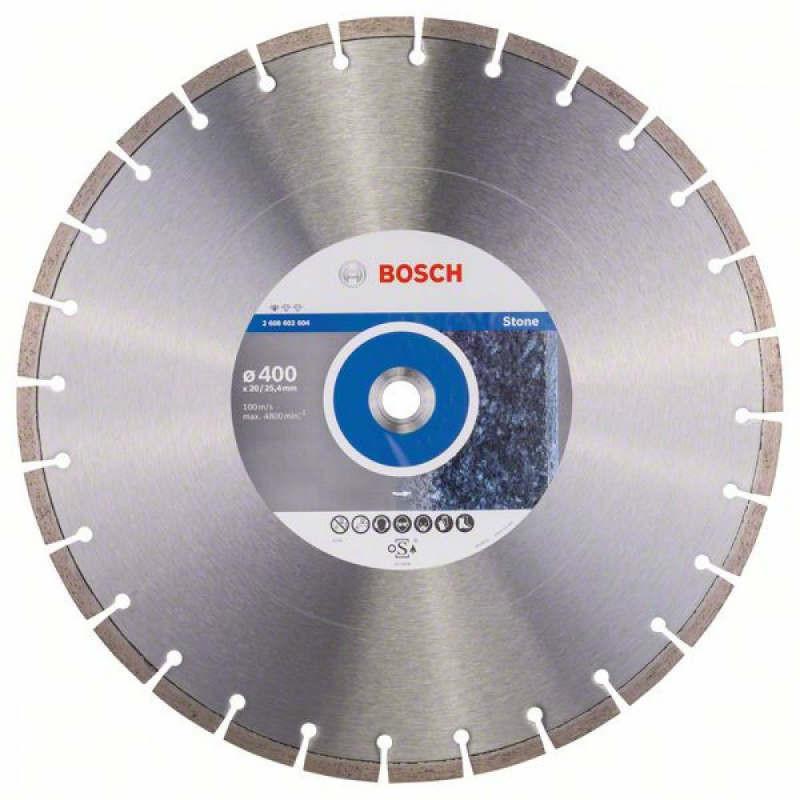 Алмазный отрезной круг Bosch Professional for Stone400x20/25,4