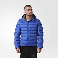 Мужская куртка с капюшоном adidas D JACKET MID AC3300 зима