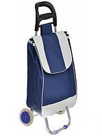 Тачка сумка с колесиками кравчучка 95см E00317 Blue.D