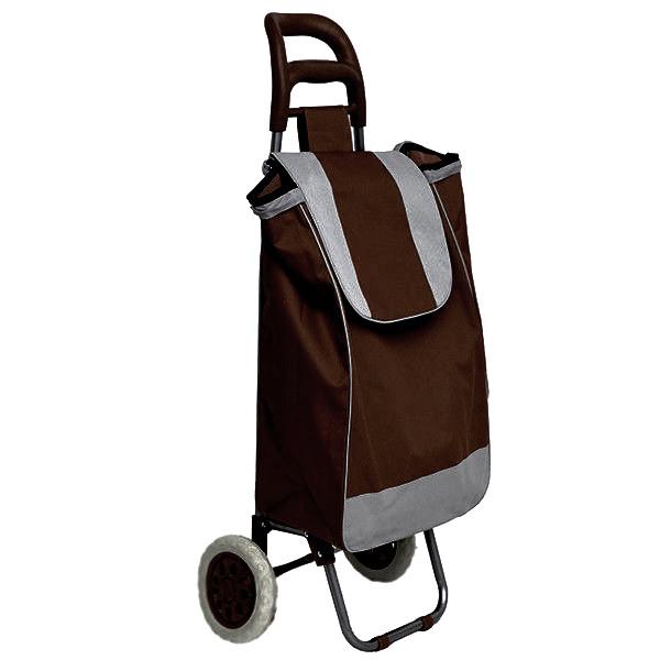 12e9d253c180 Тачка сумка с колесиками кравчучка 95см E00317 Brown - MegaDeals - Оптовый интернет  магазин в Киеве