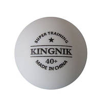 Пластиковые мячи для настольного тенниса Kingnik super training 40+ ABS