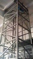 Шахтный подъёмник грузоподъёмностью 1000 кг, 1 тонна. Проектирование, Изготовление, Монтаж под ключ.