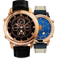Часы Patek Philippe Sky Moon Tourbillon Gold. Replica: ААА.