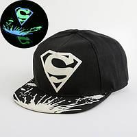 Cветящаяся  черная кепка  S