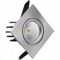 Светильник потолочный HOROZ (HL6741L) 3W LED 220-240V IP20 6500К хром мат.