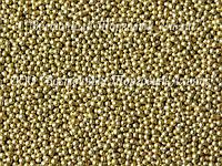 Декоративные жемчужины —  Золотые Ø1 - 200 г