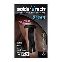 SpiderTech Тейп SpiderTech Elbow Pack (черный), 6 шт./уп.