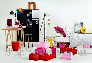 Восьми точечный розовый контейнер для хранения Lego PlastTeam 40041739, фото 3