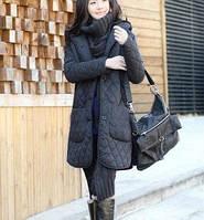 Куртка на пуговицах с накладными карманами
