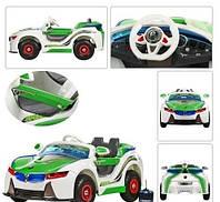 Детский электромобиль BMW Vision HL 718 на р/у резиновые колеса  Metr+