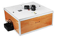 Инкубатор с автоматическим переворотом Курочка Ряба 80 яиц: 0-100 °С, 4 лампы E14, 60х60х27 см, 3 кг