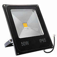 Прожектор LEMANSO LED 50W 6500K IP65 1LED черный / LMP2-50