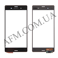 Сенсор (Touch screen) Sony D6603 Xperia Z3/  D6633/  D6643/  D6653 чёрный