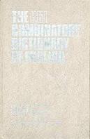 The BBI Combinatory Dictionary of English. (Комбинаторный словарь