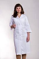 Халат медицинский женский белый батист