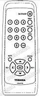 Пульт для TOSHIBA TDP-S8 (аналог)