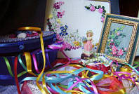 Ленты для вышивки и декора пометрово