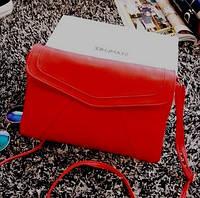 Женская сумка  конверт  клатч через плечо Positive