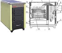 Кухонный котел центрального отопления Kalvis-4С