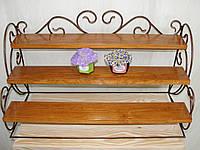 Этажерка кухонная кованая (MS-KK-02), фото 1