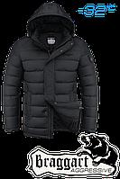 Куртка на меху  мужская Braggart Aggressive -  2712F черная