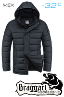 Куртка на меху  мужская Braggart Aggressive - 2712C графит