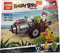 """Конструктор Angry Birds Lepin 19001 """"Побег из машины свинок"""", 101 дет"""