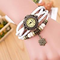Часы-браслет в стиле Ретро с подвеской Снежинка