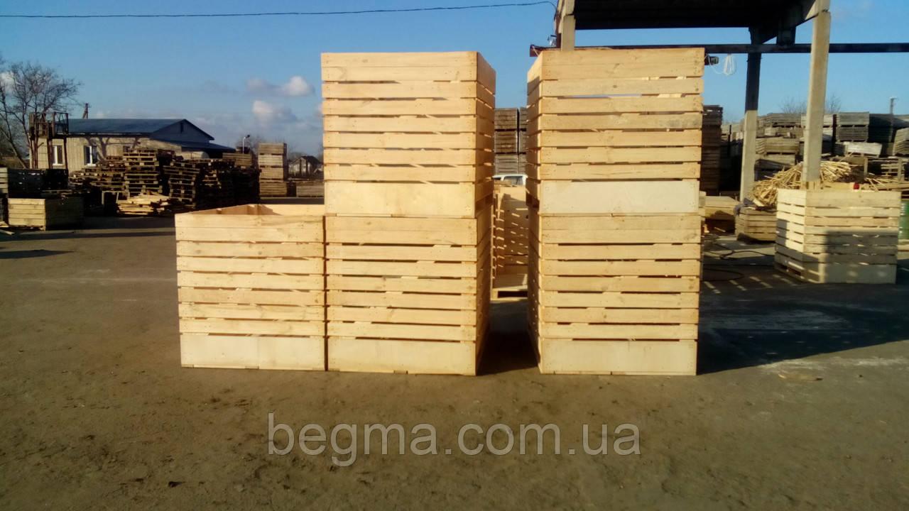 Контейнер деревянный 1600*1200*1200, фото 1